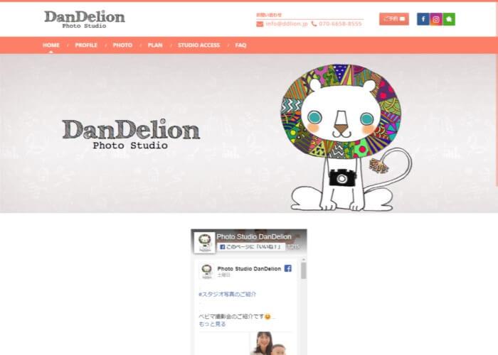 DanDelion Photo Studio(ダンデライオンフォトスタジオ)のキャプチャ画像