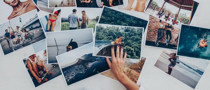 写真を選ぶイメージ