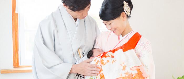 家族写真 お宮参りイメージ