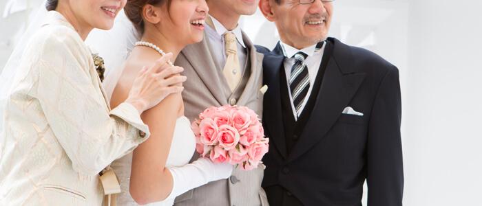 家族写真 ブライダルイメージ