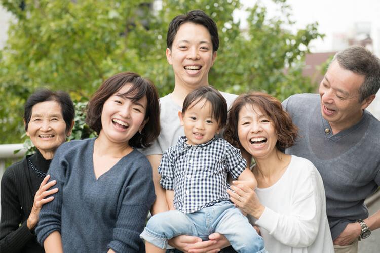 家族写真イメージ画像