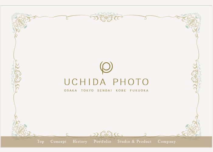 UCHIDA写真仙台ショールームのキャプチャ画像