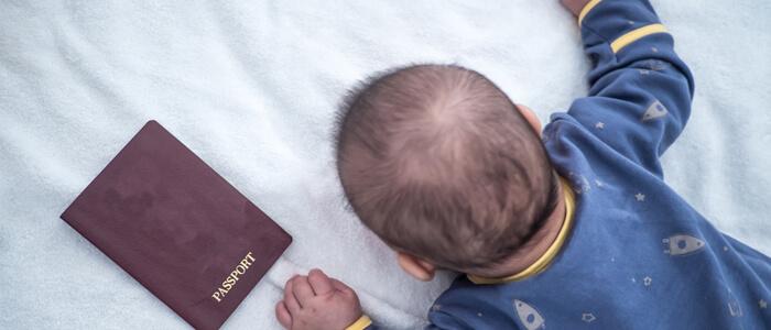 赤ちゃん パスポートイメージ