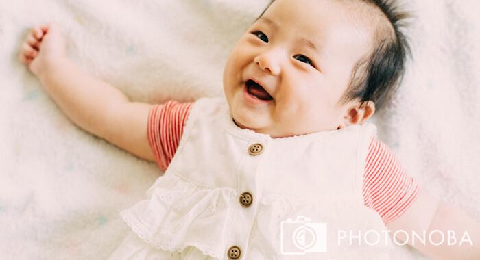 ベビー 笑顔 イメージ