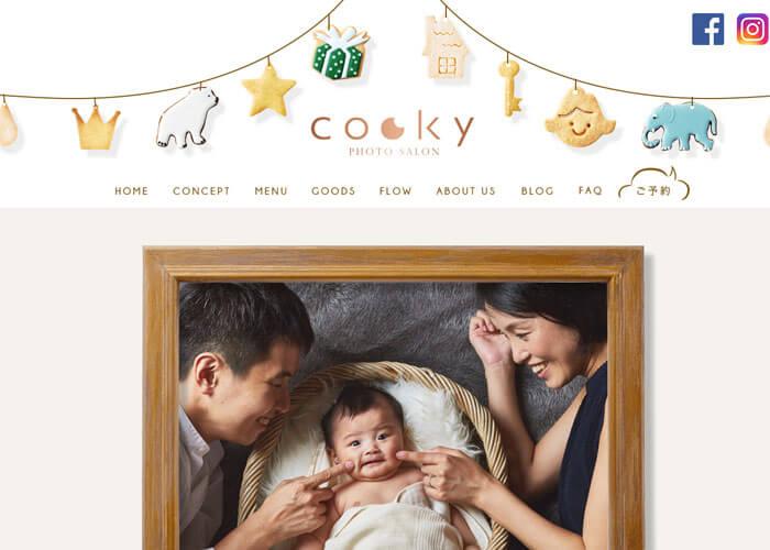 cooky photo salon(クッキーフォトサロン)のキャプチャ画像