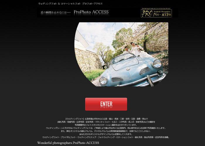 プロフォト・アクセスのキャプチャ画像