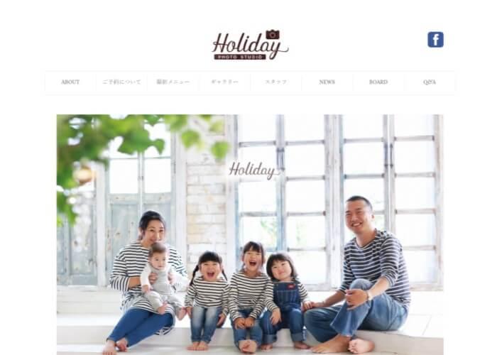 Holiday Photo studio(ホリデイフォトスタジオ)のキャプチャ画像