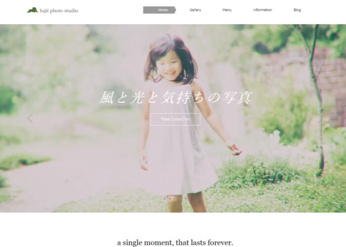 fujii photo studio(藤井写真館)のキャプチャ画像