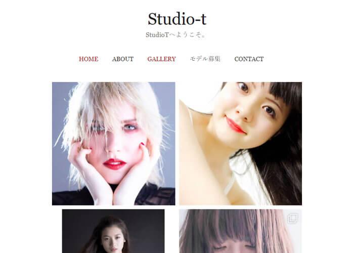 写真スタジオ StudioTのキャプチャ画像