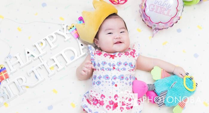 誕生日の赤ちゃん
