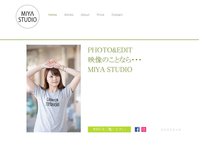 MIYA STUDIO キャプチャ画像