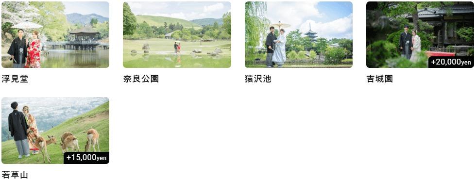 スタジオゼロ奈良 ロケーション