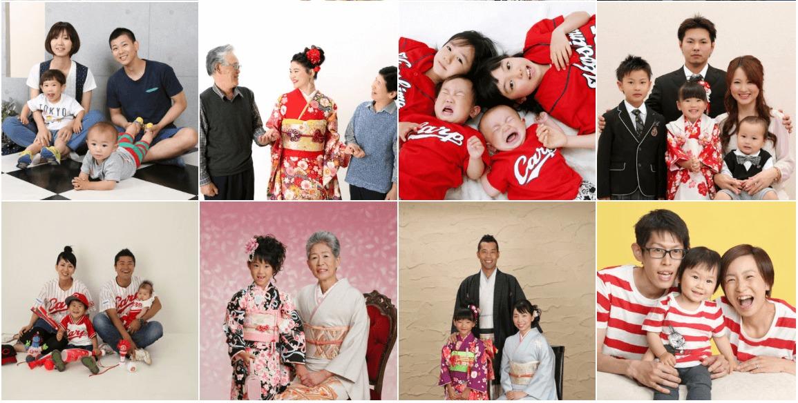 大進創寫館 家族写真